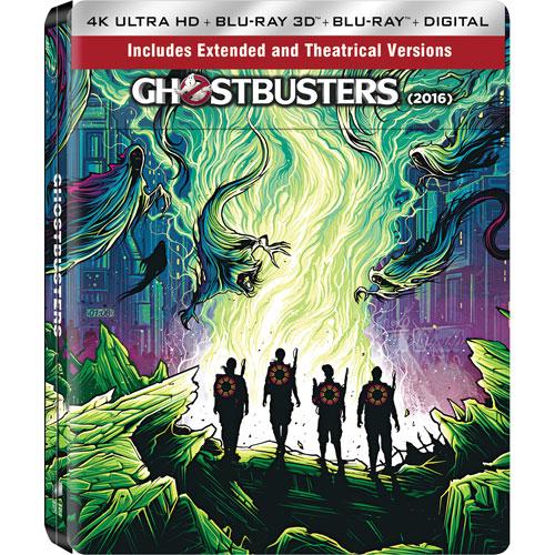 Ghostbusters (SteelBook) (Only at Best Buy) (4K Ultra HD) (Blu-ray Combo) (2016)
