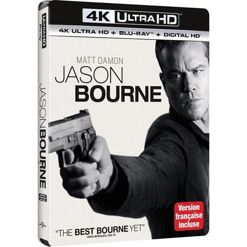 Jason Bourne (Ultra HD 4K) (Combo Blu-ray) (2016)