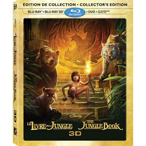 The Jungle Book (bilingue) (combo de Blu-ray 3D) (2016)
