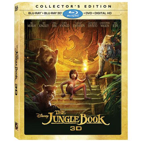 The Jungle Book (English) (3D Blu-ray Combo) (2016)
