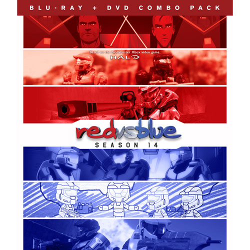 Red vs Blue: Season 14 (Blu-ray Combo)