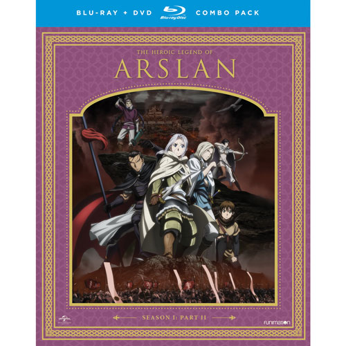Heroic Legend of Arslan: Season 1 Part 2 (Blu-ray Combo)