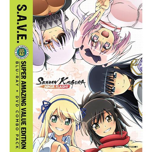 Senran Kagura:: The Complete Series (combo Blu-ray)