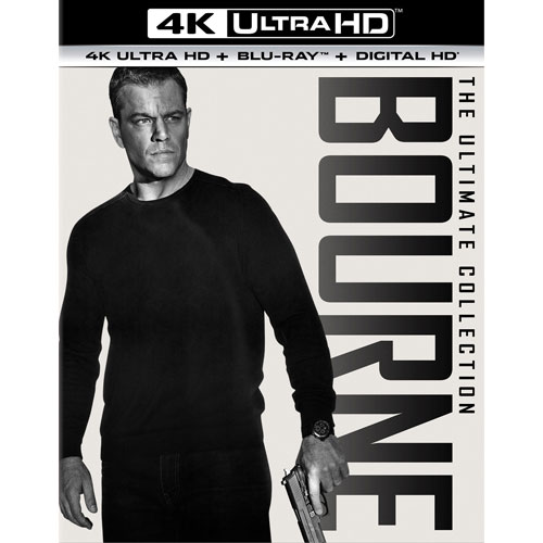 Bourne: The Ultimate 5-Movie Collection (4K Ultra HD) (Blu-ray Combo)