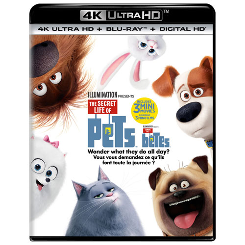 The Secret Life of Pets (4K UHD) (Blu-ray Combo)