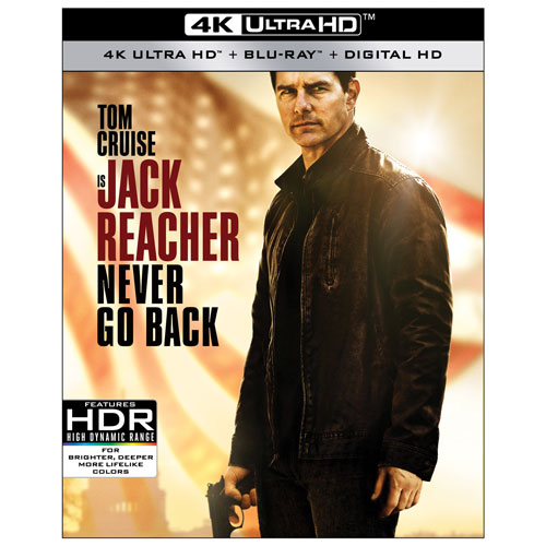 Jack Reacher: Never Go Back (4K Ultra HD) (Blu-ray Combo)