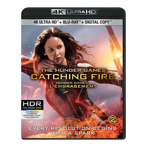 The Hunger Games: Catching Fire (Ultra HD 4K) (combo Blu-ray)