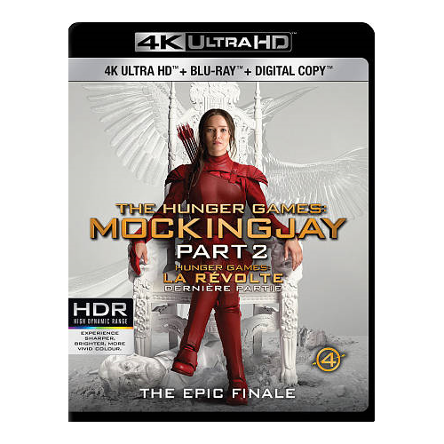 The Hunger Games: Mockingjay Part 2 (4K Ultra HD) (Blu-ray Combo)
