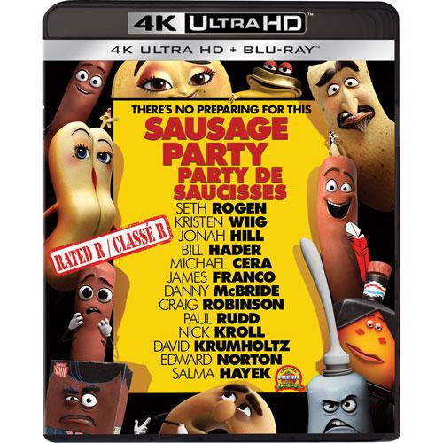 Sausage Party (Ultra HD 4K) (combo Blu-ray) (2016)