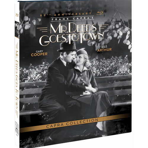 Mr. Deeds Goes To Town (édition 80e anniversaire) (Blu-ray)