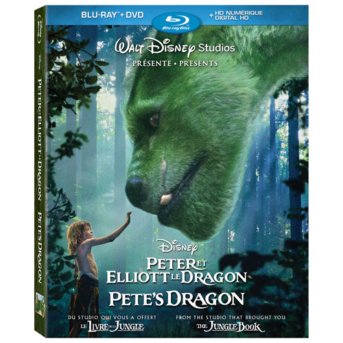 Pete's Dragon (Bilingual) (Blu-ray Combo) (2016)