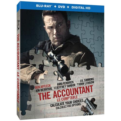 The Accountant (Blu-ray Combo) (2016)
