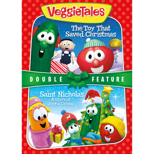 VeggieTales The Toy That Saved Christmas/Saint Nicholas: A Story of Joyful Giving