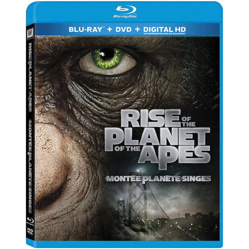 Rise of the Planet of the Apes (Blu-ray Combo) (2011)