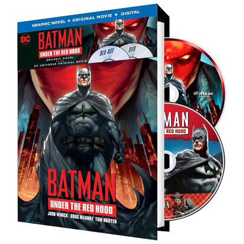 Batman: Under the Red Hood avec Batman Red Hood: The Last Days Graphic Novel (combo Blu-ray)