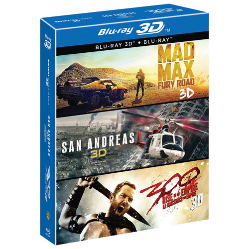 3D Film collection (Only at Best Buy) (Blu-ray Combo)