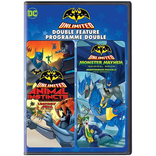 Batman Unlimited: Animal Instincts/ Batman Unlimited: Monster Mayhem