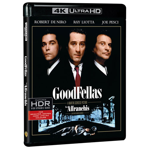 Goodfellas (4K Ultra HD) (Blu-ray Combo)