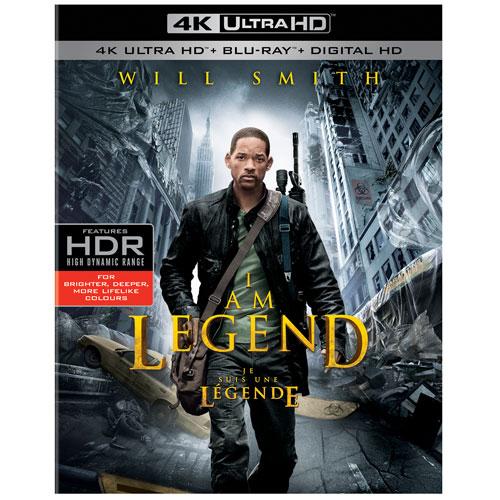 I Am Legend (Ultra HD 4K) (combo Blu-ray)