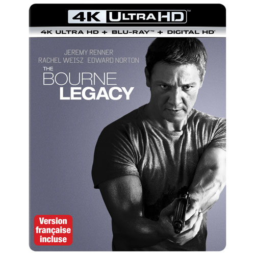 Bourne Legacy (Ultra HD 4K) (combo Blu-ray)