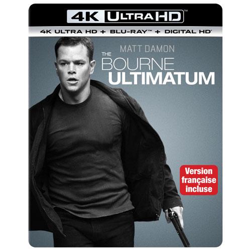 Bourne Ultimatum (4K Ultra HD) (Blu-ray Combo)