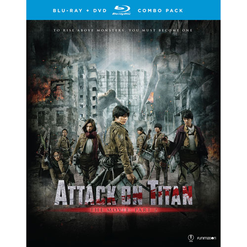 Attack on Titan The Movie Part 2 (Blu-ray Combo)