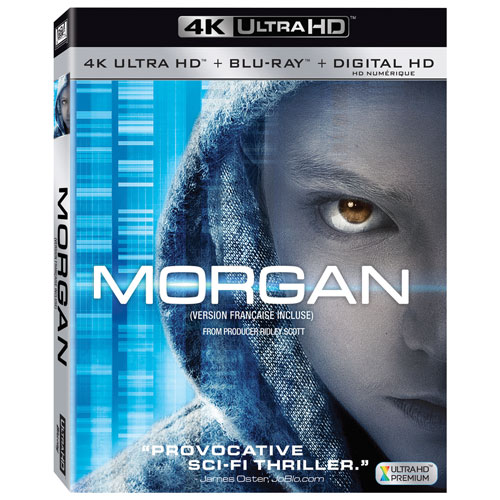 Morgan (Ultra HD 4K) (combo Blu-ray)
