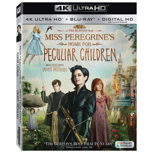 Miss Peregrine's Home For Peculiar Children (4K Ultra HD) (Blu-ray Combo)