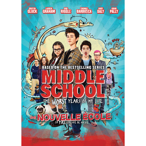 Middle School: The Worst Years of My Life (Bilingual)