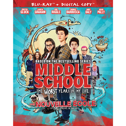 Middle School: The Worst Years of My Life (Bilingual) (Blu-ray)