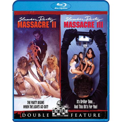 Slumber Party Massacre II/ Slumber Party Massacre III (anglais) (Blu-ray) (1987 /1990)