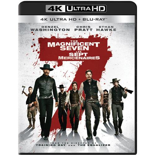 Magnificent Seven (4K Ultra HD) (Blu-ray Combo) (2016)