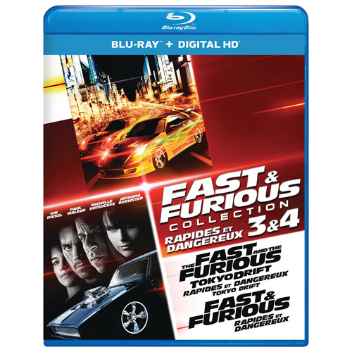Fast and the Furious Collection: 3 & 4 (Blu-ray)