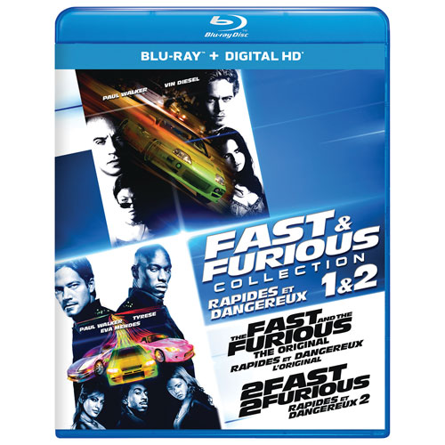 Fast and the Furious Collection: 1 & 2 (Blu-ray)