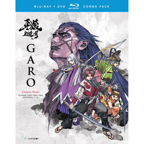 Garo Crimson Moon Season 2 Part 1 (Blu-ray Combo)