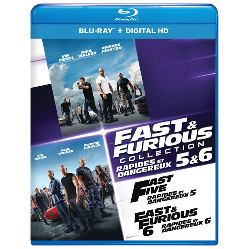 Fast and the Furious Collection: 5 & 6 (Blu-ray)