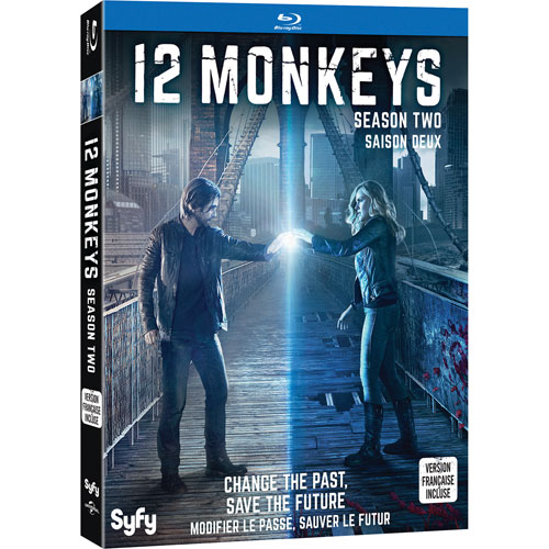 12 Monkeys Season Two (Blu-ray)