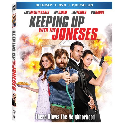 Keeping Up With The Joneses (Blu-ray Combo)