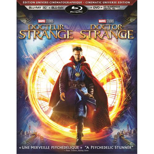 Doctor Strange (bilingue) (édition univers cinématographique) (combo Blu-ray 3D) (2016)