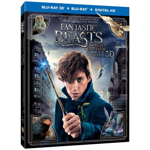 Fantastic Beasts (Bilingual) (3D Blu-ray Combo)