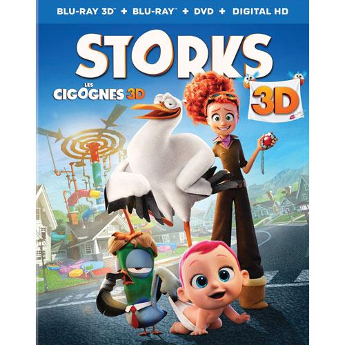 Storks (Combo Blu-ray 3D) (2016)