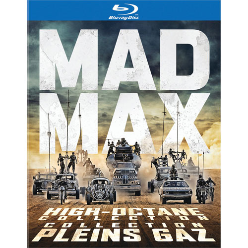 Mad Max High Octane Collection (Bilingual) (Blu-ray)
