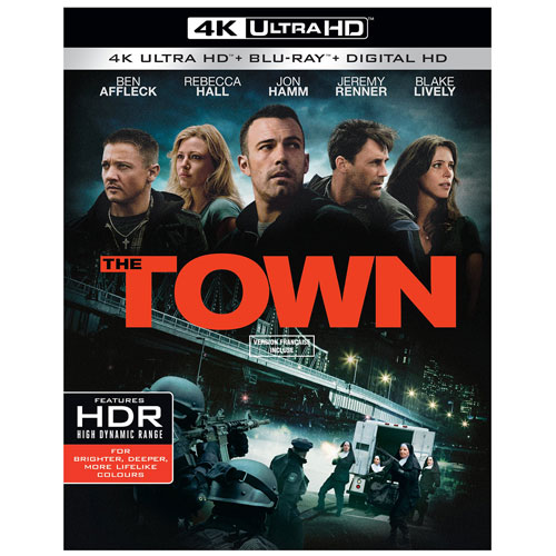 The Town (Bilingual) (4K Ultra HD) (Blu-ray Combo)