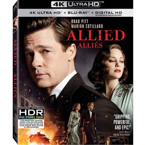 Allied (Bilingual) (4K Ultra HD) (Blu-ray Combo) (2016)