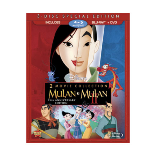 Mulan (anglaise) (Collection de 2 films) (combo Blu-ray)