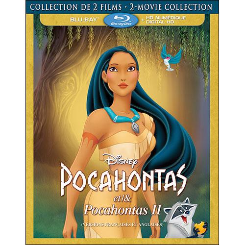 Pocahontas (français) (Collection de 2 films) (combo Blu-ray)