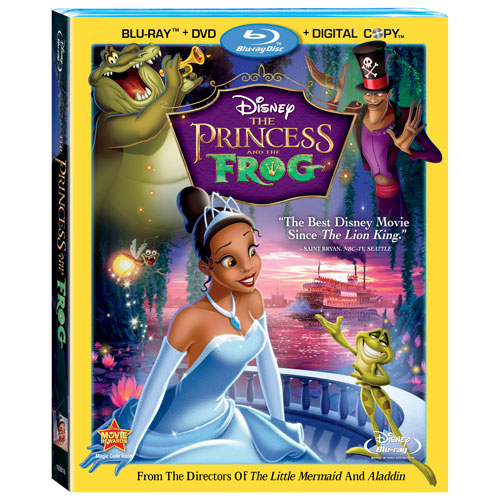 The Princess and the Frog (anglaise) (combo Blu-ray)