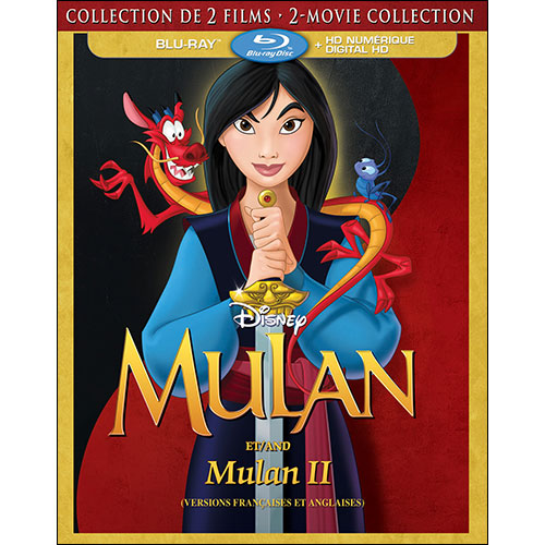 Mulan (French) (2 Movie Collection) (Blu-ray Combo)