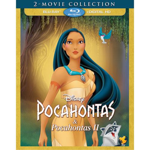 Pocahontas 2 Movie Collection (English) (Blu-ray Combo)