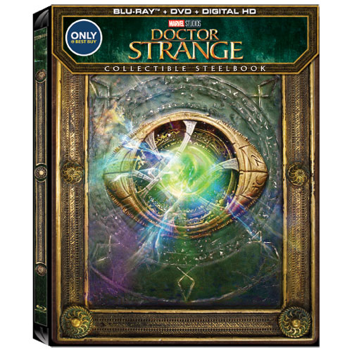 Doctor Strange (anglaise) (SteelBook) (Seulement à Best Buy) (combo Blu-ray) (2016)